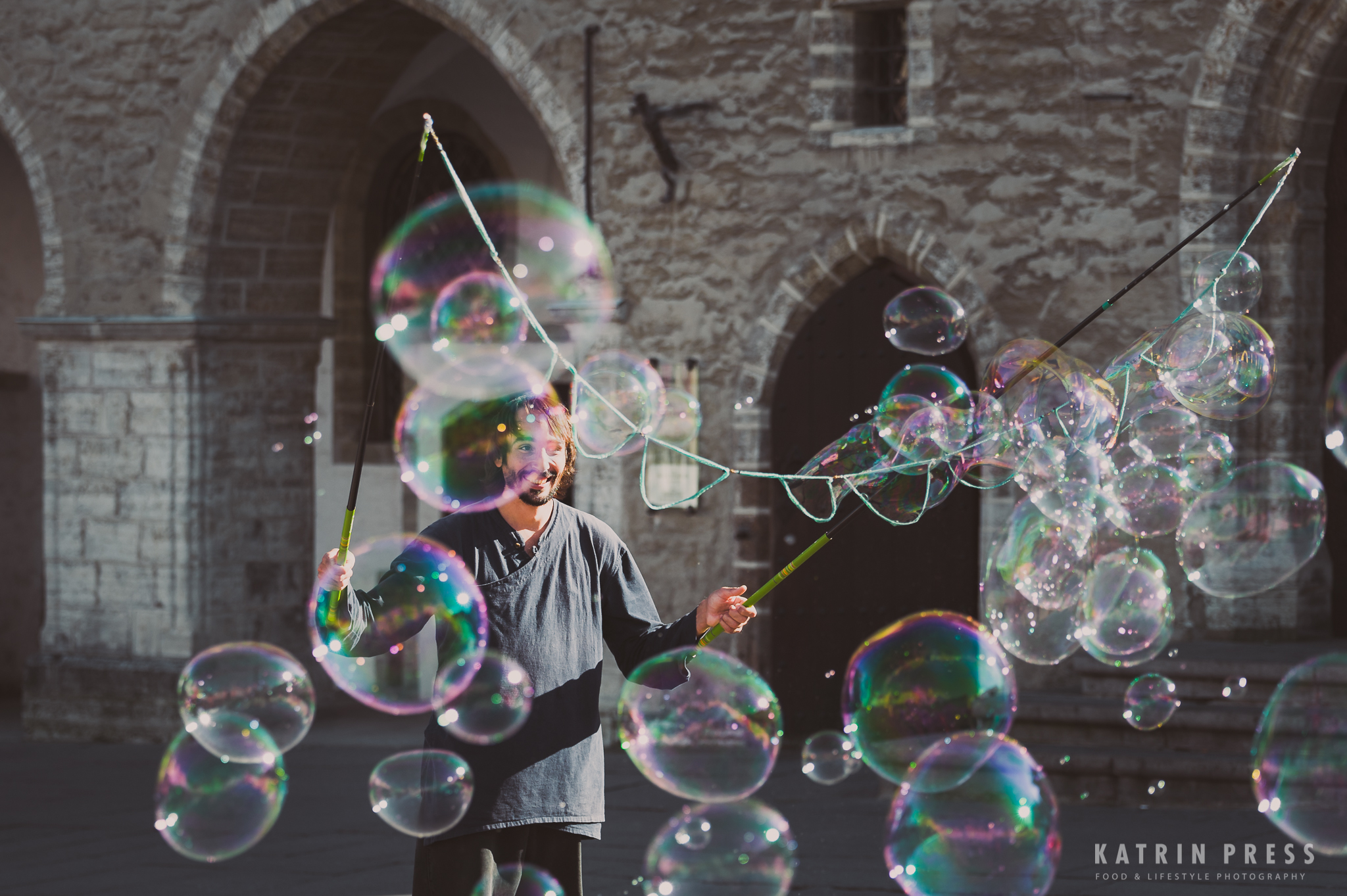 magic soap bubbles