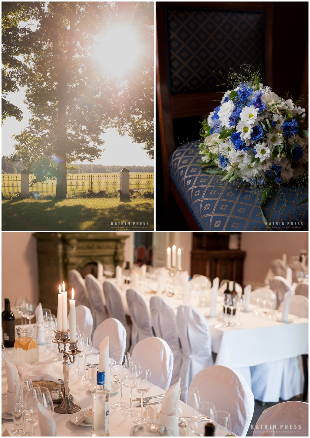 "ALT=""multicultural wedding, Estonia, Eivere manor, details, table setting"""