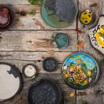 "ALT=""estonian ceramics, pottery, tableware, autumn, rustic"""