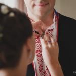 "ALT=""Estonia, national costume, wedding couple, getting ready"""